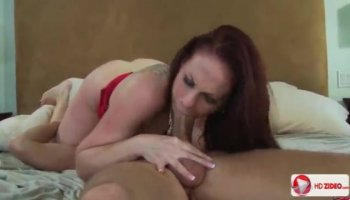 Busty masseuse licks tiny tittied blonde