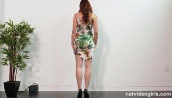 Zoe Britton A Hot StripTease And Masturbation