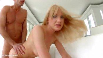 First class blond MILF Puma Swede loving the hardcore fucking