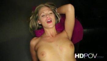 Blonde BBW mature get fucked