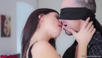 Pornstar receives touched hard